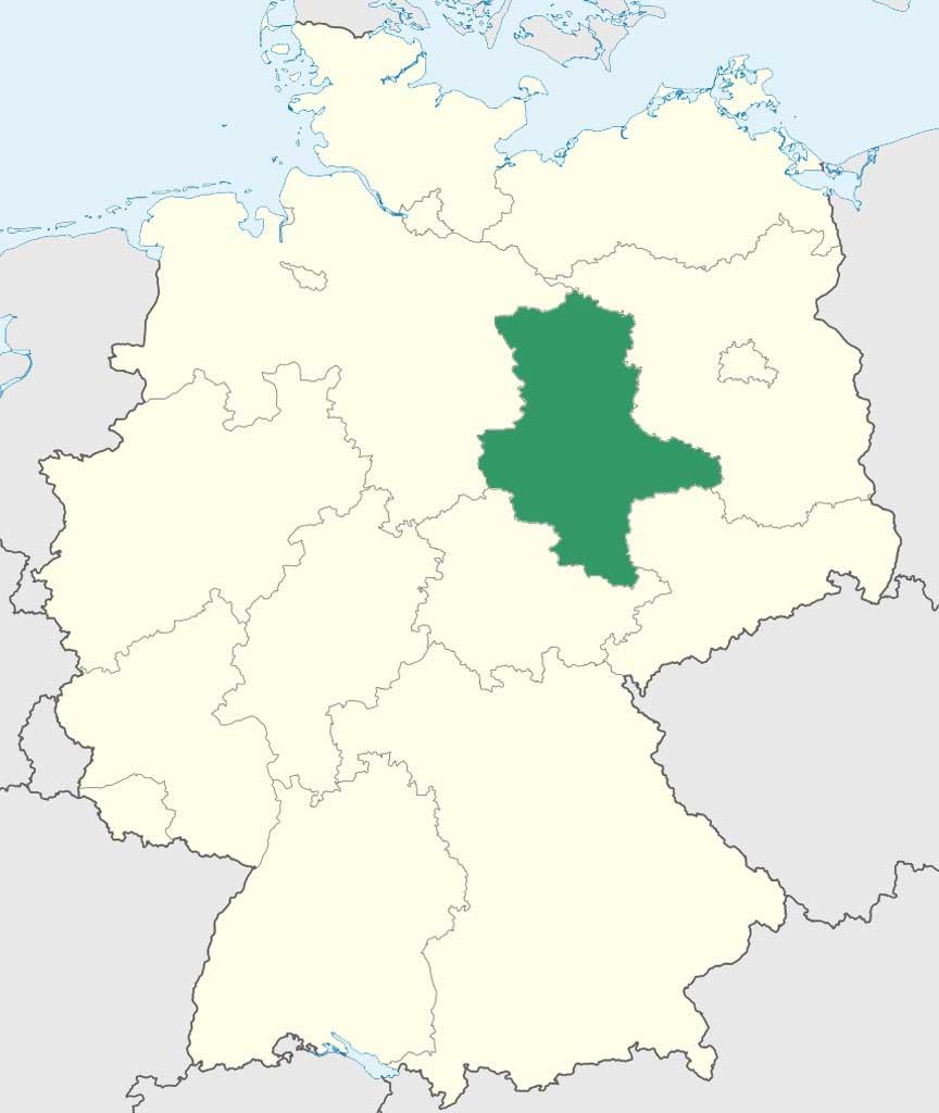 Karte Sachsen Anhalt.Einbürgerungstest Sachsen Anhalt Karte Informationen Auswahl