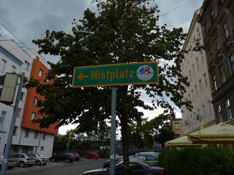 Mistplatz Wien