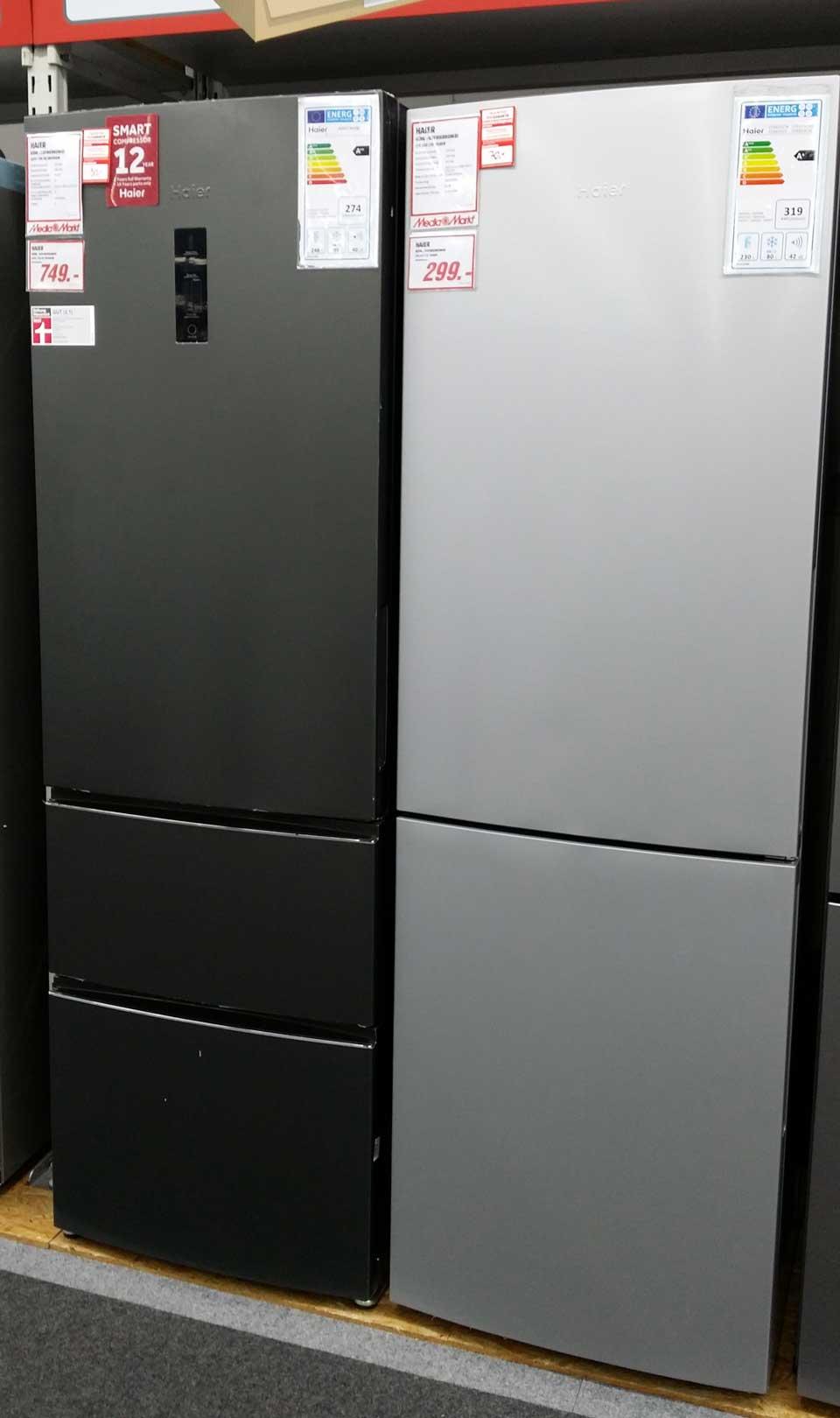 Sind Kühlschränke von Marke \