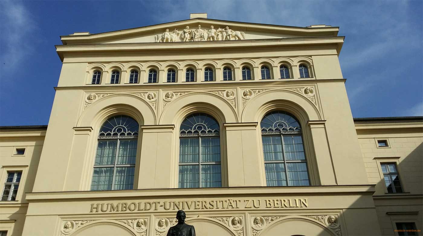 Humboldt Uni Stellen