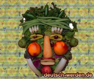 Obstgesicht - Gemüsegesicht (Food Face Man)
