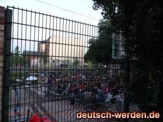 KULTURFABRIK Moabit, Berlin - Zuschauer hinter Gitter