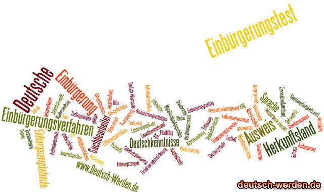 Einbürgerung - Integration mit Tagcloud - 3
