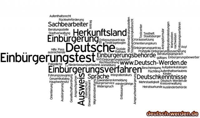 Einbürgerung - Integration mit Tagcloud - 4