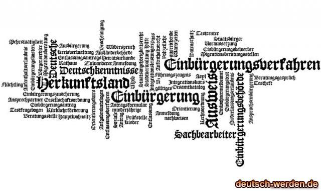 Einbürgerung - Integration mit Tagcloud - 7