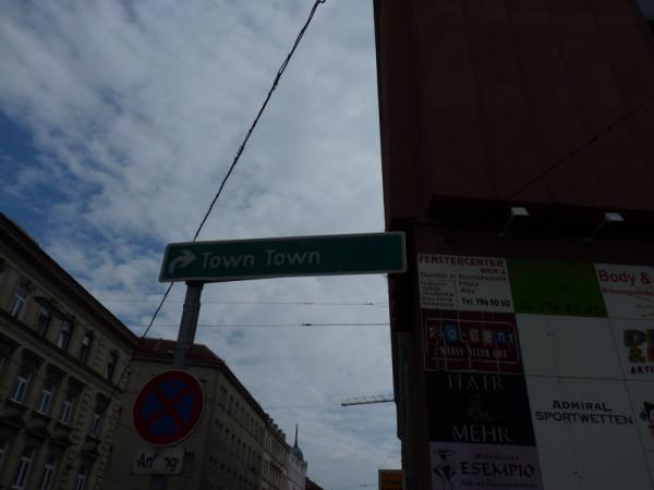 town deutsch