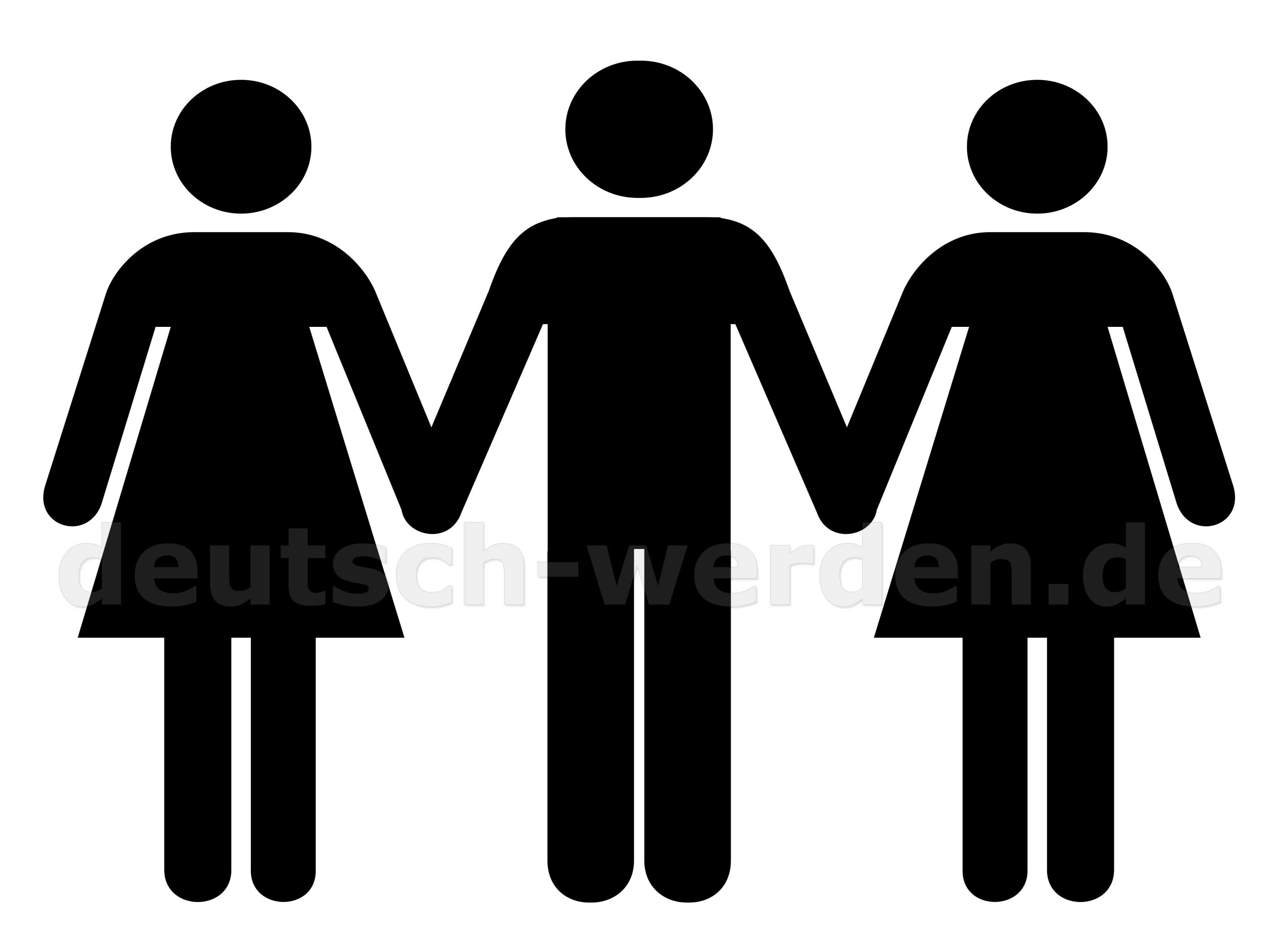 2 Frauen Und 1 Mann