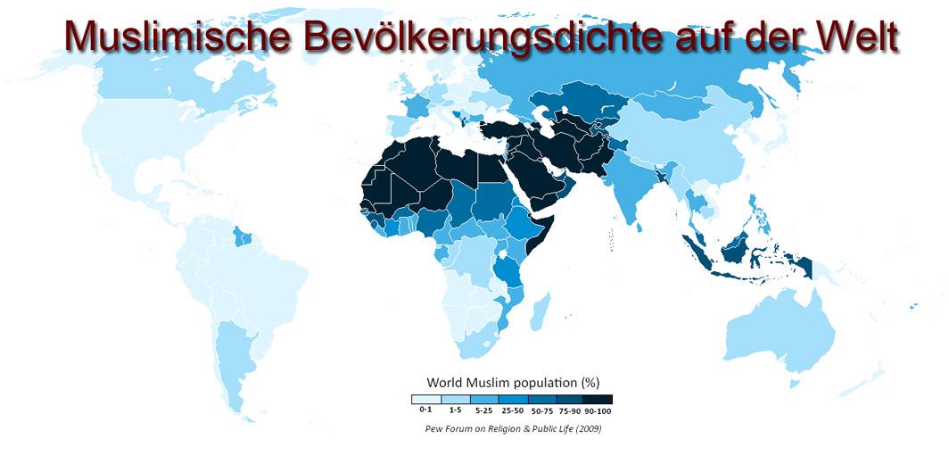 Wie Viele Moslems Gibt Es