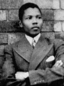 Mandela als Jugendlicher